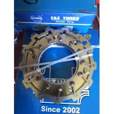 Геометрия турбины Volkswagen Crafter TDI, 2006-2009, 2.5L VNT TD04VG